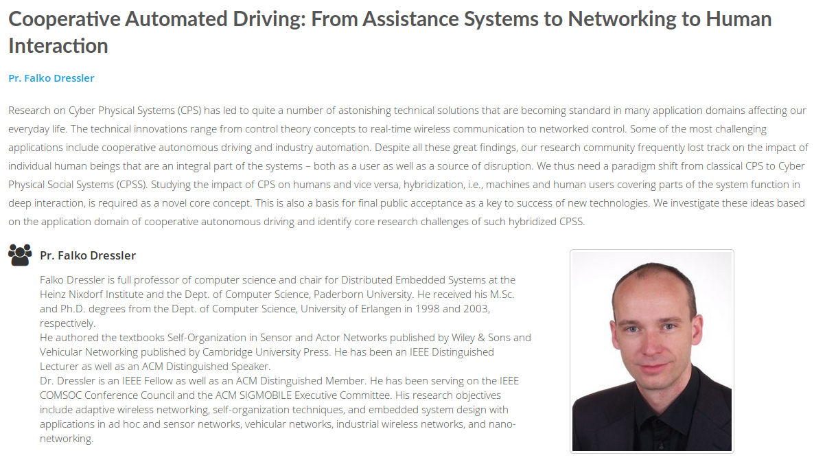 News and Announcements - Distributed Embedded Systems